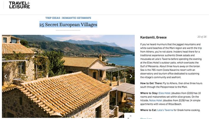 Kardamili 1 out of 25 Secret European Villages