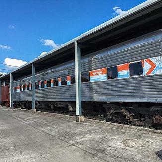 Railroad dining car