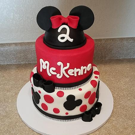 Minnie Mouse Glam Birthday