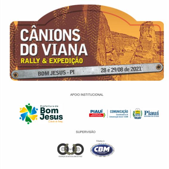 RALLY/EXPEDIÇÃO - CANIONS DO VIANA - CAMP. PIAUIENSE ENDURO DE REGULARIDADE - FMP