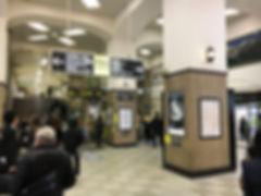 JR元町駅改札前