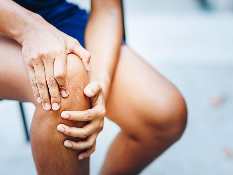 鵞足炎による膝の痛み