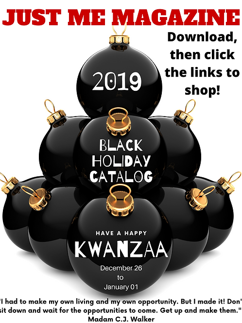 Black Holiday Catalog
