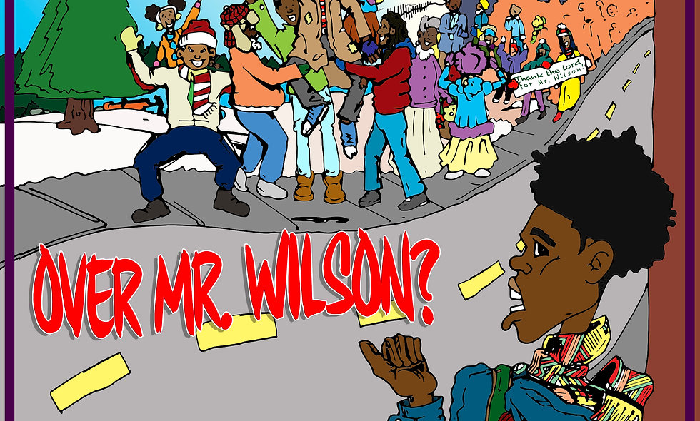 What's All the Fuss over Mr. Wilson (Paperback)