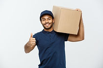delivery-concept-portrait-happy-african-