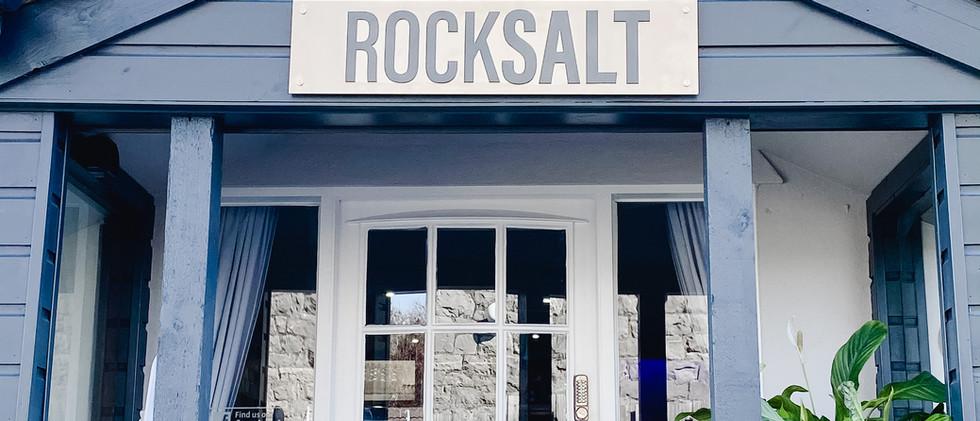 Rock Salt Entrance