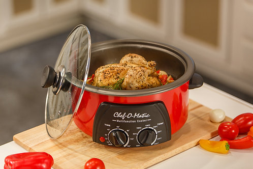 CHEF-O-MATICMULTIFUNCTION COOKER 3L