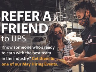 UPS Warehouse Workers Hiring Event