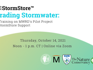 Trading Storm Water: MWRD's Pilot Project & Storm Store™ Support