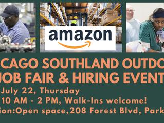 The Chicago Southland Economic Development Corporation Job Fair on July 22nd