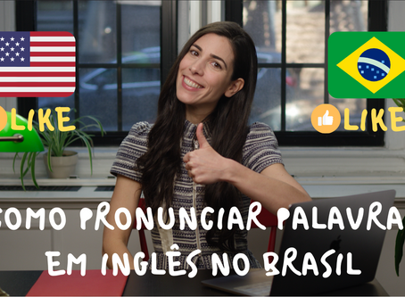 How to pronounce English words in Brazilian Portuguese
