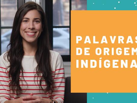 Words of Indigenous origin used in Brazil