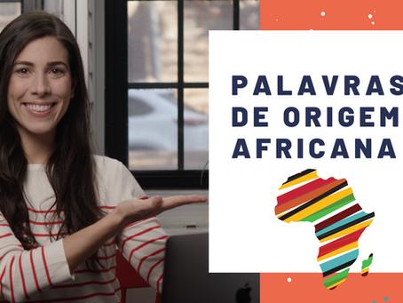 Words of African origin used in Brazil