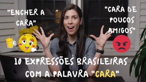 """10 Brazilian Expressions with the word """"CARA"""" – Part 2"""