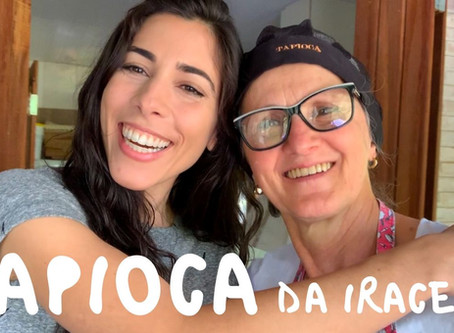 How to Make Brazilian Tapioca Crepes with Iracema