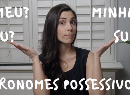 Possessive Pronouns in Portuguese