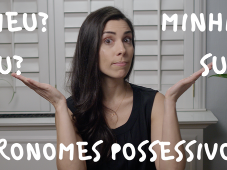 Possessive Pronouns in Portuguese