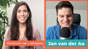 Interview with polyglot Jan van der Aa in Portuguese
