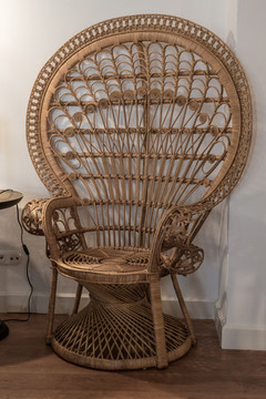 Detail of chair in the lounge