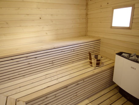 Sauna and Jacuzzi open for business