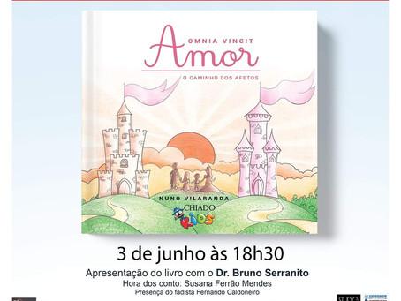 Lançamento de livro Omnia Vincit AMOR - O caminho dos afetos