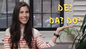 How to use the preposition DE in Portuguese