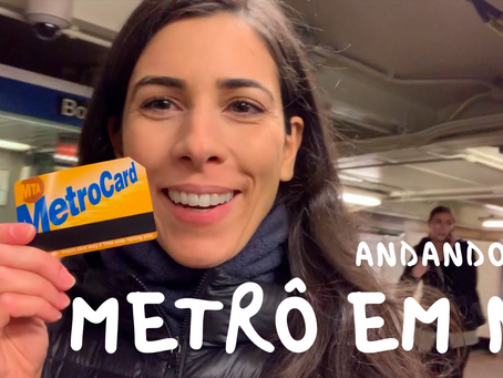 Brazilian Portuguese Vocabulary | Riding the SUBWAY in NYC