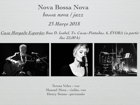 Nova Bossa Nova in our Lounge