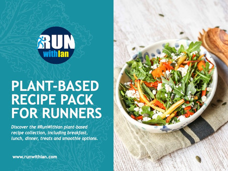 Vegetarian 58-Recipe Pack for Runners now available for download
