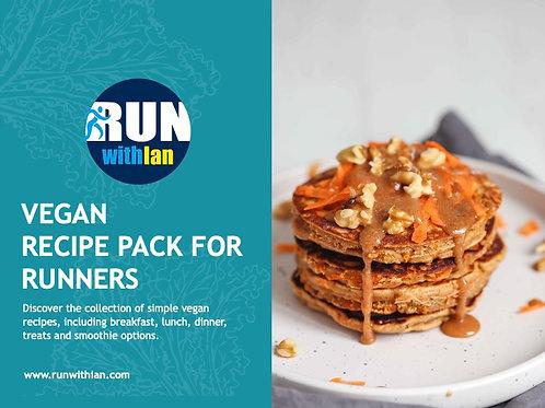 RunWithIan Vegan Recipe Pack for Runners