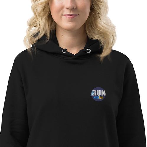 RunWithIan Women's Hoodie Dress (in black)