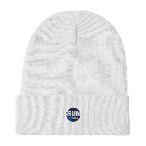 RunWithIan Embroidered Beanie