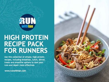High-Protein Recipe Pack for Runners launched