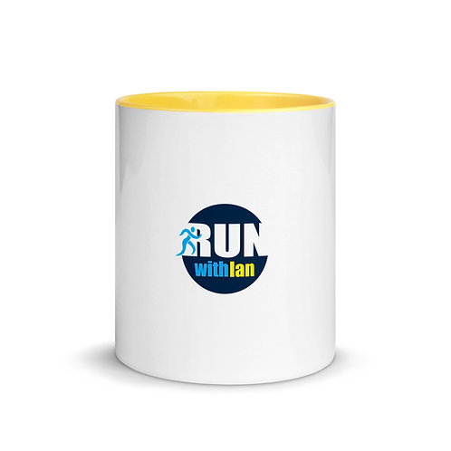 RunWithIan Mug with Colour Inside