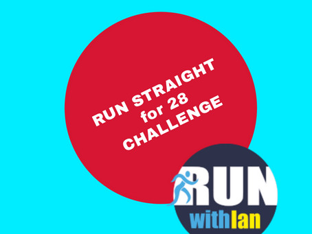 February Run Straight for 28 Challenge launched... Starts 1 February