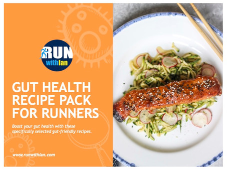New RunWithIan GutHealth Recipe Pack for Runner launched...
