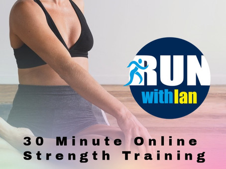 30 minute online strength & conditioning class launches 21 December 2020