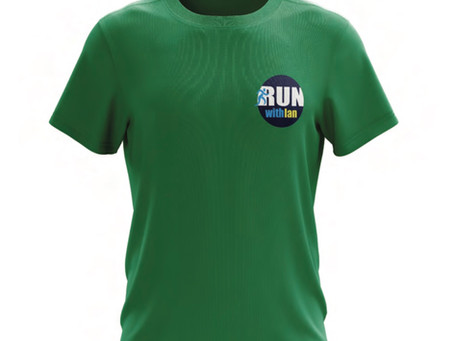 New RunWithIan Ladies Technical T-Shirt now available in Magenta or Green