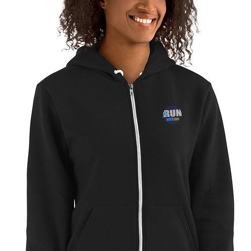 RunWithIan Women's Premium Zip Hoodie Sweater