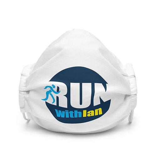 RunWithIan Premium Face Mask