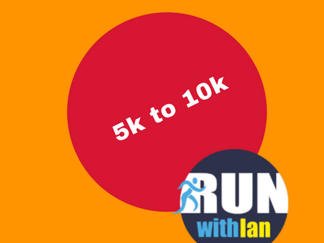 New 5k to 10km Programme starts 22 April 2021