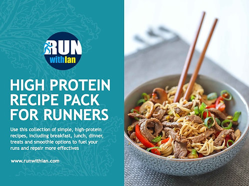 #RunWithIan High-Protein Recipe Pack for Runners