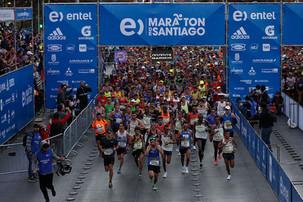 Un recorrido a puro deporte por Santiago de Chile