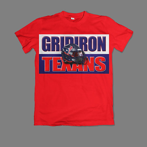 """Gridiron Texans""  Fan T-Shirt"