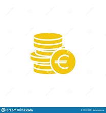 pile-d-euro-pièces-de-monnaie-avec-la-pi