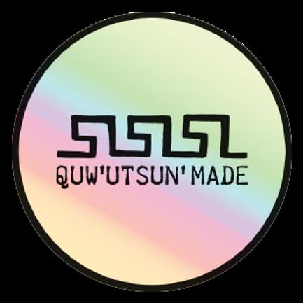 "3"" Holographic Logo Sticker"