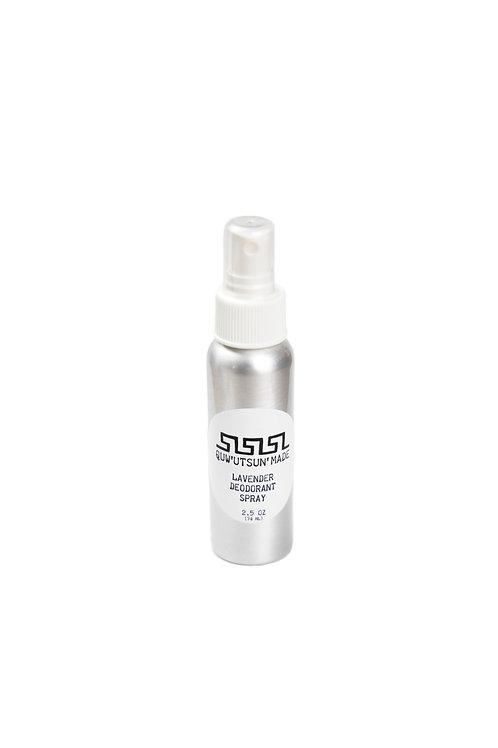 2.5oz Natural Deodorant Spray