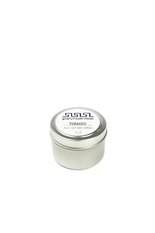 4oz Soy Wax Medicine Candle In Tin