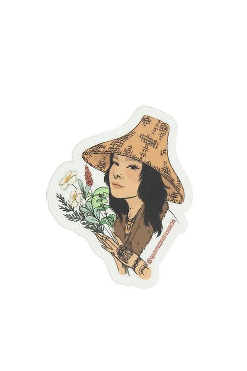 Poyomi + Quw'utsun' Made Medicine Sticker