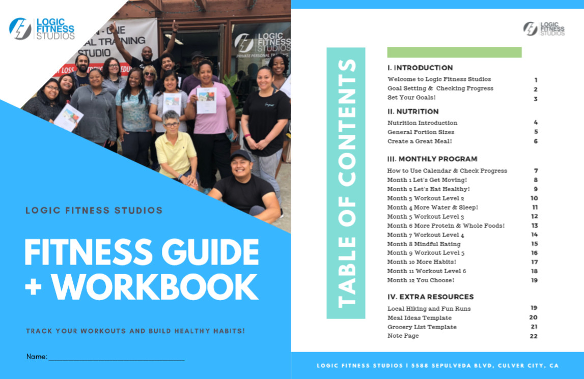 Logic Fitness Booklet Table of Contents